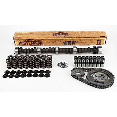 Lunati Bootlegger XXX12240HK Complete Flat Tappet Hyd. Camshaft Kit for Chevrolet SMall Block Engines