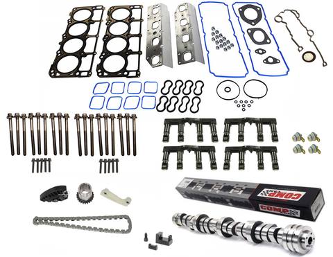 "MDS Delete Kit With ""NSR"" Choppy Idle Camshaft for 2009-2015 Chrysler Dodge Jeep 5.7L Hemi Engines"