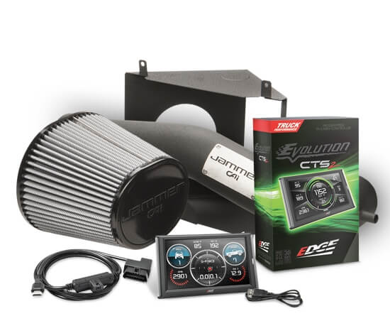 Edge 29500-D Stage 1 Cold Air Intake Kit Package for 2009-2013 Chevrolet GMC Trucks SUVs 5.3L 6.2L Engines
