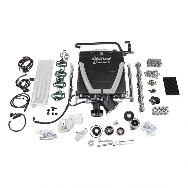 303011 Supercharger & Cam Power Package for 1998-2007 GM LS1 LS2 Cathedral Port 4.8L 5.3L 6.0L