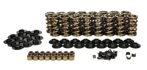 "Lunati 73925K1 Gold Dual Valve Spring Kit .660"" Max Lift for Chevrolet GM Gen III IV LS 4.8 5.3 5.7 6.0 6.2 Engines"