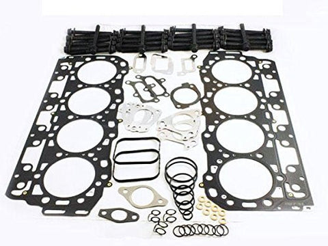 "Duramax 6.6L LMM Head Gasket Set with Head Bolts - MLS types ""B or C"""