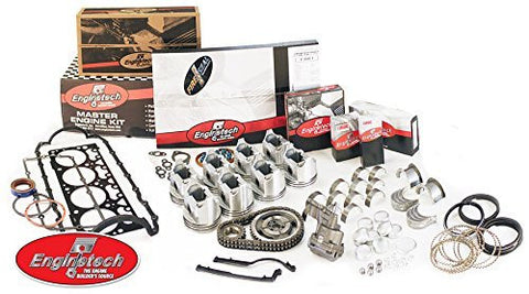 Enginetech RCC305C Rebuild Kit for 1986 GM 5.0L 305 Car VIN H F S
