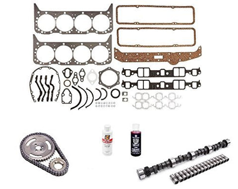 Engine Pro Small Block Chevy Stage 3 465/465 Lift Camshaft Install Kit