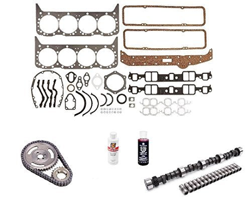Engine Pro MC1730 Stage 2 Camshaft Install Kit for 1967-1979 Small Block Chevy 350 5.7L 420/433 Lift