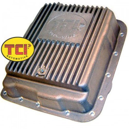 TCI 378000 Extra Deep Transmission Oil Pan for GM 700R4 4L60E