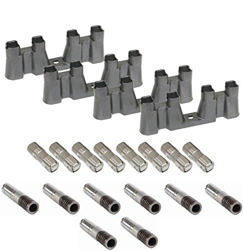 Enginetech L2303K-16 AFM DOD Lifters with Guides Set for 2006-2013 Chevrolet GM LS 5.3 6.0 6.2 Engines