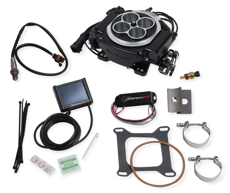 Holley 550-511K Sniper EFI 4150 4BBL Self-Tuning Fuel Injection Master Kit