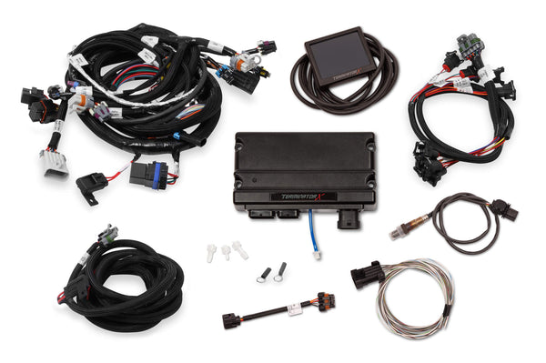 Holley 550-905 Terminator X 58X LS MPFI Kit for 4.8 5.3 6.0 Truck Engines & LS2 LS3 Engines
