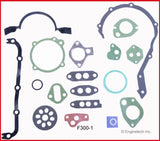 Enginetech MKF300A Stage 1 Master Rebuild Kit for 1968-1985 Ford 300 4.9L L6 HP Camshaft