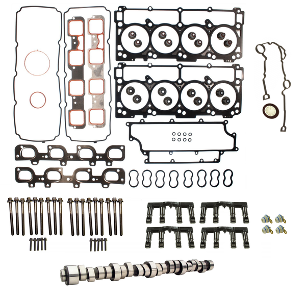 2005-2010 Chrysler Dodge Jeep 6.1L Hemi MDS Delete Kit with Stage 2 Performance Camshaft