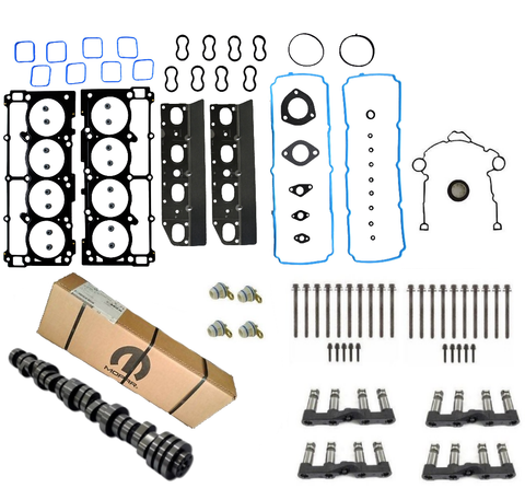 MDS Delete Install Kit with 6.4L SRT Camshaft for 2009 - 2015 5.7L Hemi Engines
