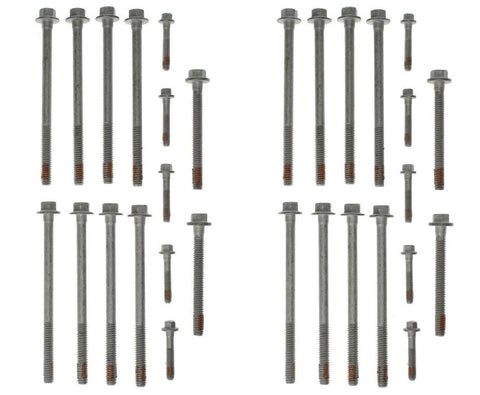 Enginetech HB171 Cylinder Head Bolts Set (both heads) for 1997-2004 Chevrolet GM Gen III LS 4.8L 5.3L 5.7L 6.0L Engines