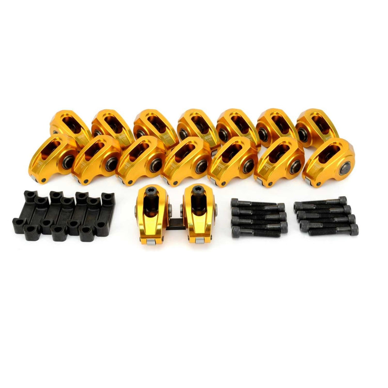 COMP Cams 19028-16 Ultra-Gold Aluminum Roller Rocker Aar Set 1.72 Ratio for GM GEN IV LS3 L92 L94 L99 Engines