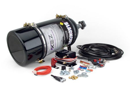Zex 82235B LSX Blackout Wet Nitrous System 75-175 HP