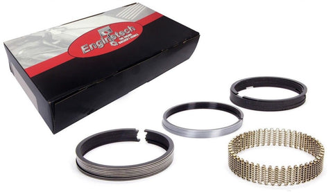 "Enginetech M40058 Moly Piston Rings Set 5/64 5/64 3/16"" for Chevrolet Ford Chrysler 4.000"" Bore Engines"