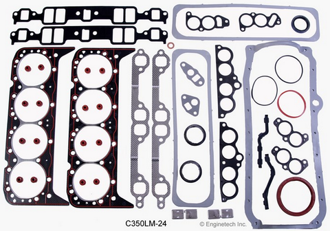 Enginetech Stage 1 Performance Master Rebuild Kit for 1987-1995 Chevrolet  Small Block 5 7L 350 TBI Engines