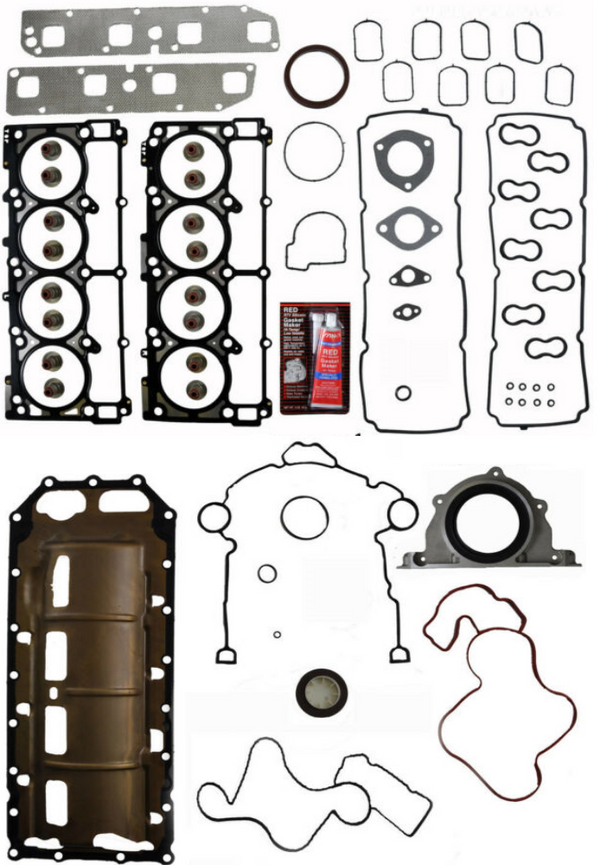 Enginetech CR345K-1 Full Gasket Set for 2003-2008 Dodge 5.7L Hemi Truck SUV Engines