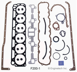 Enginetech RCF200 Engine Rebuild Kit for 1965-1974 Ford 3.3L L6 200 Car Truck
