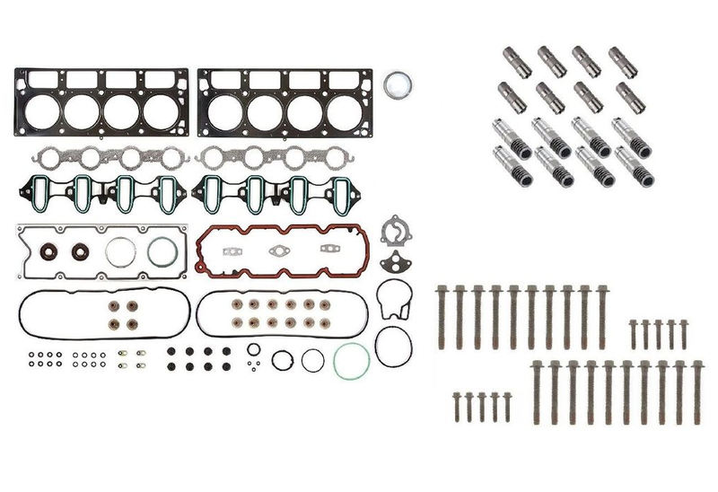 AFM/DOD Active Fuel Management Lifter Replacement Kit. Head Gasket Set, Head Bolts, Full Lifter Set. for 6.0L Hybrid Engines