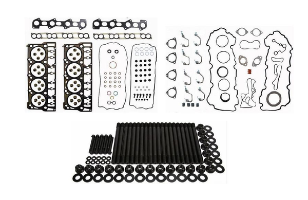ARP 250-4203 Head Studs and Head Gasket Set Kit for 2008-2010 Ford Powerstroke Diesel 6.4L Engines