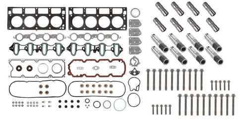 AFM/DOD Active Fuel Management Lifter Replacement Kit. Head Gasket Set, Head Bolts, Full Lifter Set. for 2007-2013 5.3L Engines