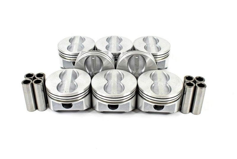 Enginetech P1534(8) Flat Top Pistons Set for Chevrolet Small Block 350 5.7L