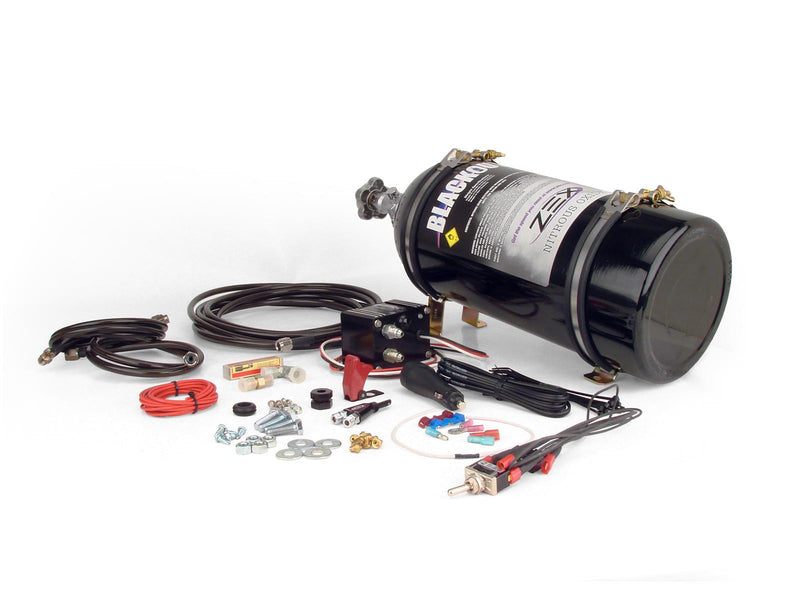 Zex 82380B 2010-Current V8 Camaro Blackout Wet Nitrous System 75-175 HP
