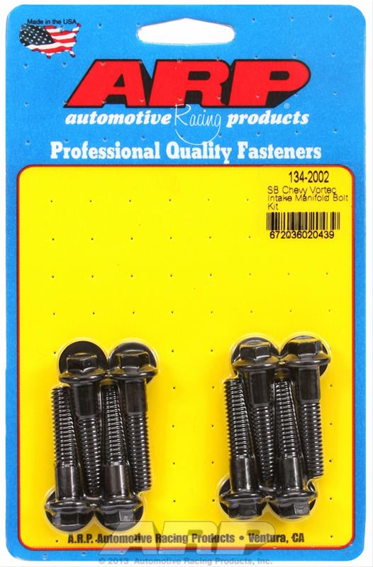 ARP 134-2002 Intake Manifold Bolts Kit for 1996-2002 Chevrolet Small Block Vortec 305 350 Engines