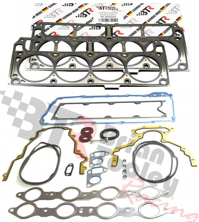 Brian Tooley Racing BTR BTR73450 Gen III Complete Gasket Set w/ LS9 Cylinder Head Gaskets