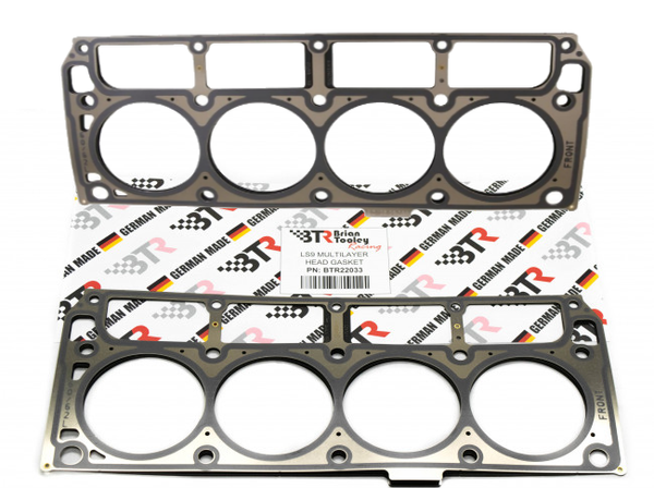 Brian Tooley Racing BTR LS9 MLS Cylinder Head Gaskets Set - Like GM 12622033
