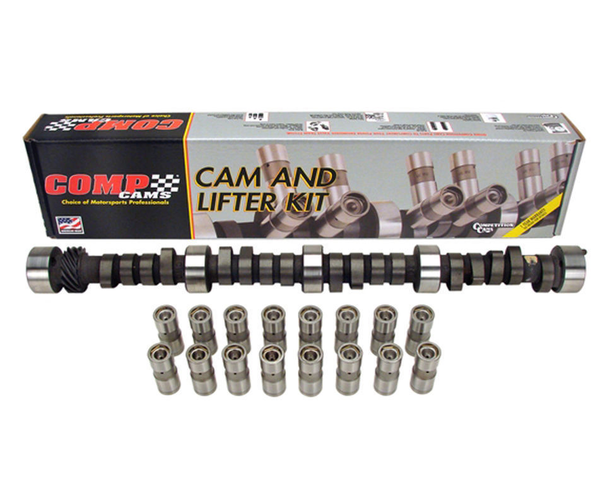 COMP Cams CL12-601-4 287TH7 Mutha Thumpr Flat Tappet Hyd. Camshaft and Lifters Kit for Chevrolet Small Block Engines