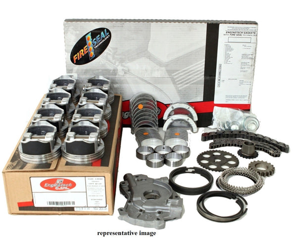 Enginetech RCCR345AP Engine Rebuild Kit for 2005-2008 Chrysler Car 5.7L 345 Hemi Engines