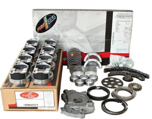 "Enginetech RCC364BP Engine Rebuild Kit for Late 2003 Chevrolet GMC 364 6.0L V8 LQ4  VIN ""U"""