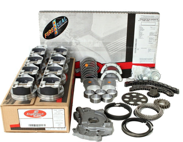 "Enginetech RCC364AP Engine Rebuild Kit for 2001-2003 Chevrolet GMC 364 6.0L V8 LQ4  VIN ""U"""