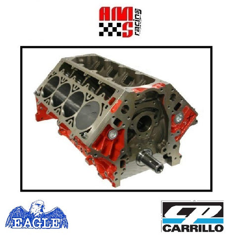 AMS Racing LSX 447 CI Forged Short Block