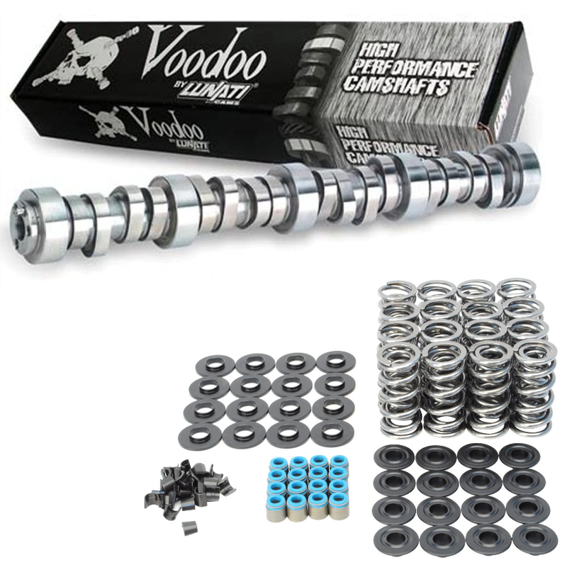 "Lunati 20540712 Voodoo Camshaft & Dual Valve Springs Kit for Chevrolet Gen III IV LS .599""/.601"" Lift"
