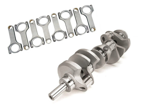 LUNATI VOODOO 70534001K3 CRANK & ROD KIT 302 SBF FORD 3.400 STROKE CRANKSHAFT