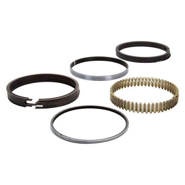 "Total Seal T3690-35 Piston Rings Set 1/16 1/16 3/16 Package; 4.030""+5 Bore; File Fit; Gapless Second"