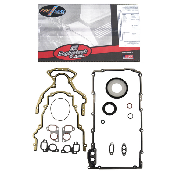 Enginetech C293CS-A Lower Gasket Set for 1999-2014 Chevrolet GM Gen III IV 4.8L 5.3L 5.7L 6.0L