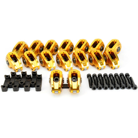 COMP Cams 19024-16 Ultra-Gold Aluminum Roller Rocker Arms Set for Chevrolet Gen III LS1 Engines