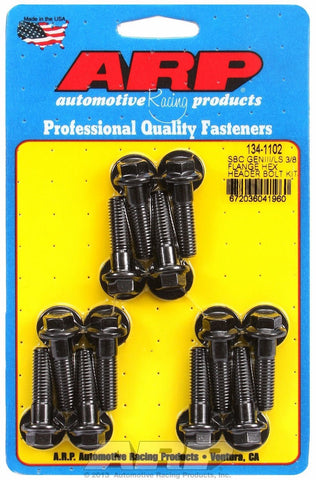 "ARP 134-1102 3/8"" Flange Header Bolt Kit for GM GEN III LS Engines"