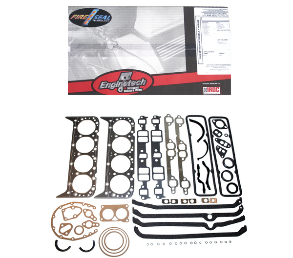 Enginetech C305-1 Engine Rebuild Overhaul Gasket Set for 1975-1985 Chevrolet GMC 305 5.0L