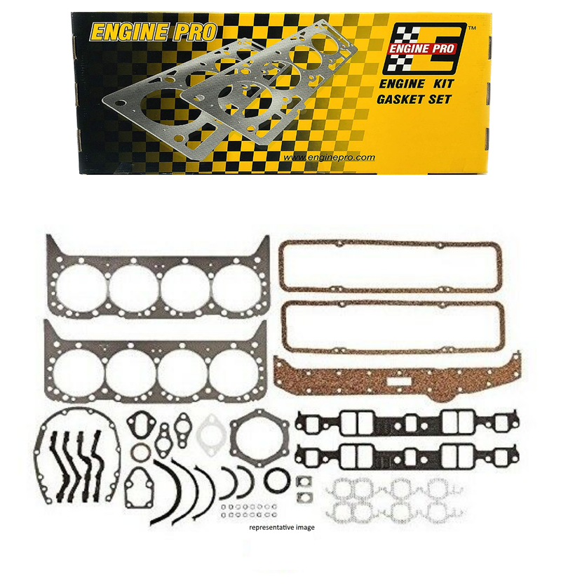 Engine Pro 30-1024 Full Overhaul Gasket Set for 1981-1985 Chevrolet GM SBC 305 5.0L