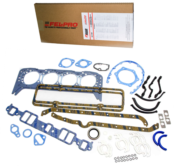 Fel-Pro Sealed Power 260-1000 Engine Rebuild Gasket Set 1955-1979 SBC Small Block Chevy 350 5.7