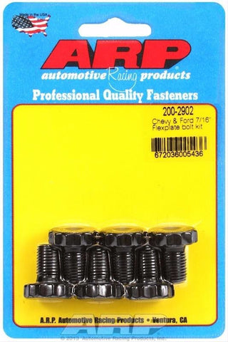 "ARP 200-2902 FLEXPLATE BOLT KIT  GM CHEVY FORD V6 V8 2 PIECE SEAL 7/16"" - 20"