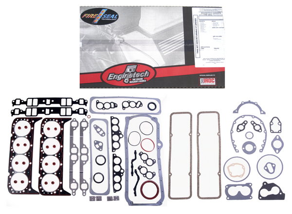 Enginetech C350LM-24 Engine Overhaul Gasket Set for 1986-1995 Chevrolet 5.7L 350 Truck