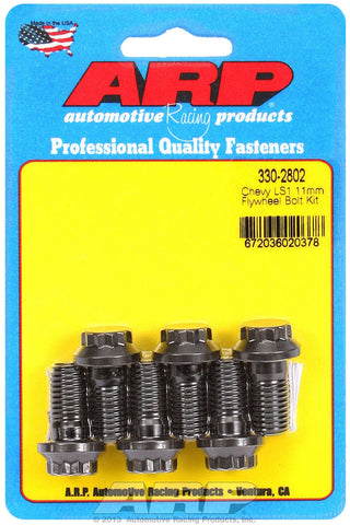 ARP 330-2802 12 Point 11mm Flywheel Bolt Kit for Chevrolet GM LS 4.8 5.3 5.7 6.0 Engines