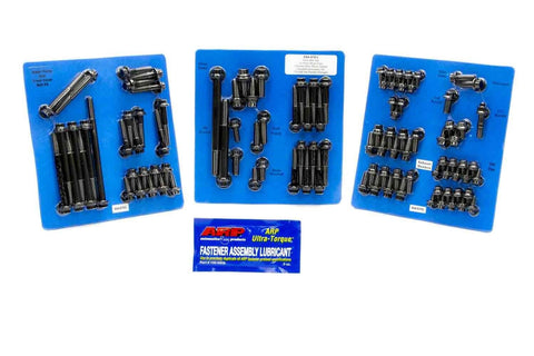 ARP 554-9701 ENGINE & ACCESSORY FASTENER KIT SBF FORD 289 302 12PT BLACK OXIDE