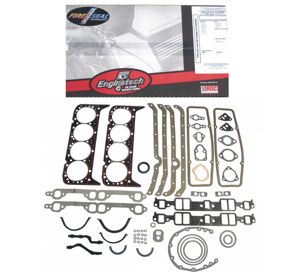 Enginetech C350-1 Full Engine Gasket Set for 1968-1985 Chevrolet 350 5.7L